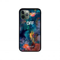 Galaxy Smoke Color Off White iPhone Case 11 X 8 7 6