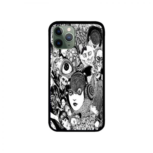 Junji ito Collage iPhone Case 11 X 8 7 6