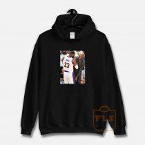 Kobe Bryant Lebron James Moment Hoodie