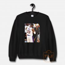 Kobe Bryant Lebron James Moment Sweatshirt