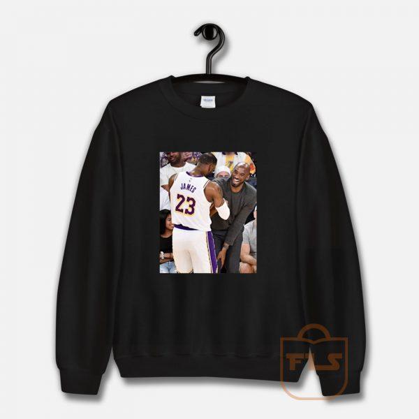 Kobe Bryant Lebron James Moment Sweatshirt