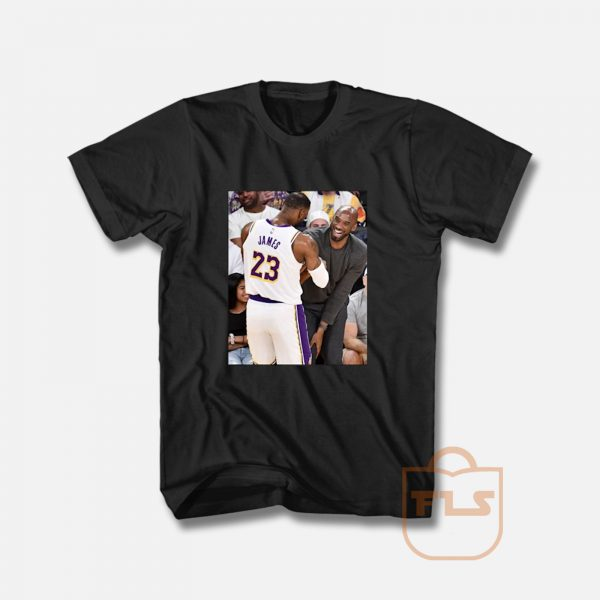 Kobe Bryant Lebron James Moment T Shirt