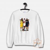 Kobe Bryant x Michael Jordan x Lebron James Sweatshirt