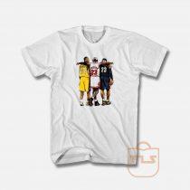 Kobe Bryant x Michael Jordan x Lebron James T Shirt