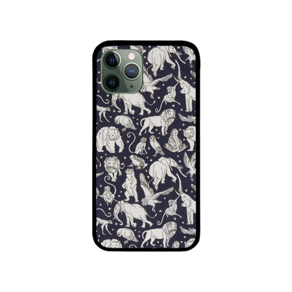 Liberty Midnight Animals iPhone Case