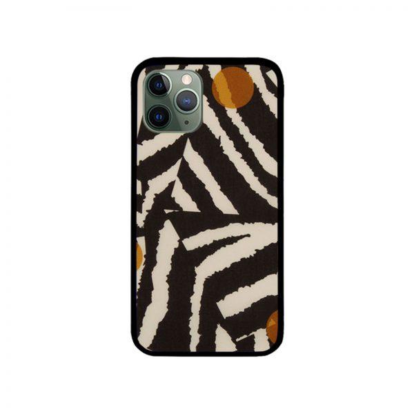 Liberty Patchwork Zebra iPhone Case