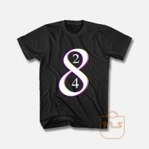 Los Angeles La Laker Legend Kobe Bryant Retiring 8 and 24 Jersey Numbers T Shirt