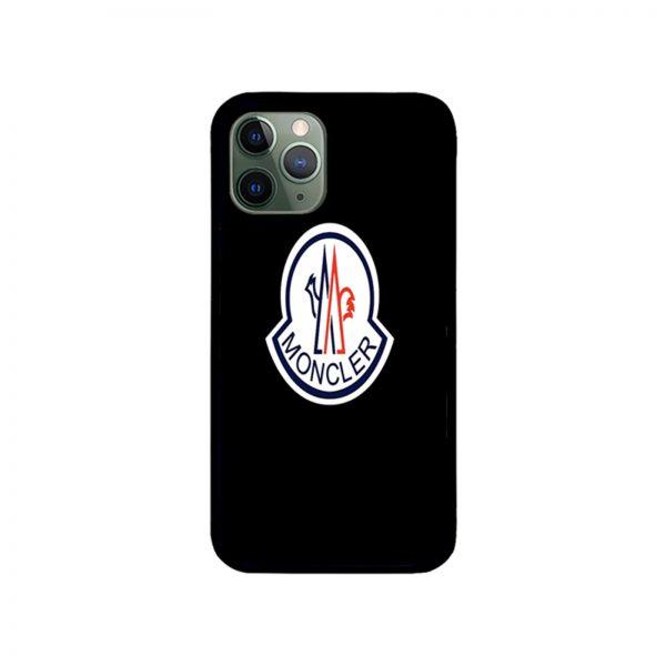 Moncler Black iPhone Case 11 X 8 7 6