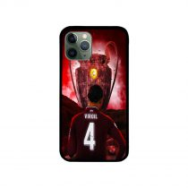 Virgil Van Dijk Liverpool Champions League Trophy iPhone Case 11 X 8 7 6