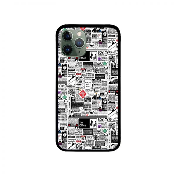 Wise Words From The Office iPhone Case 11 X 8 7 6