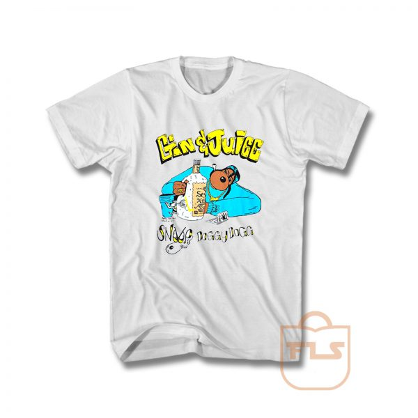 About Snoop Dogg Gin And Juice T Shirt