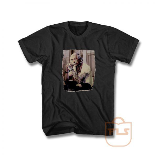 Albert Einstein Tattoo Vintage T Shirt