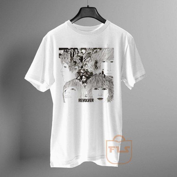 Beatles REVOLVER Album Cover Band T Shirt