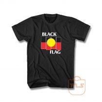 Black Flag X Aboriginal Flag Unisex Tshirt