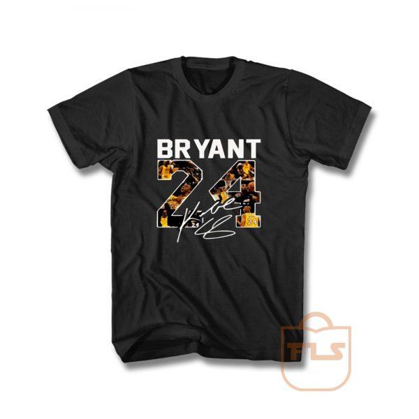 Bryant Number 24 Signature T Shirt