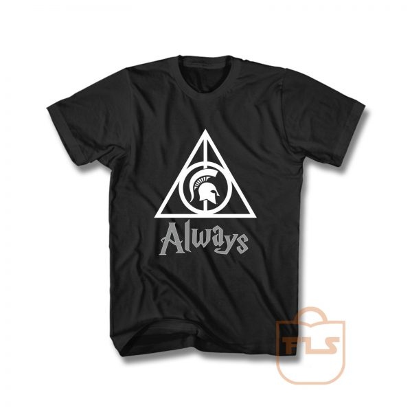 Deathly Hallows Michigan State Spartans T Shirt