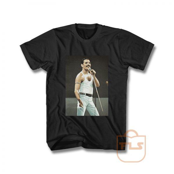 Freddie Mercury in Concert Vintage T Shirt