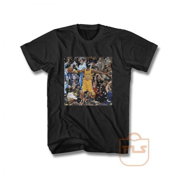Kobe Bryant Celebrating 5th Championship T Shirt