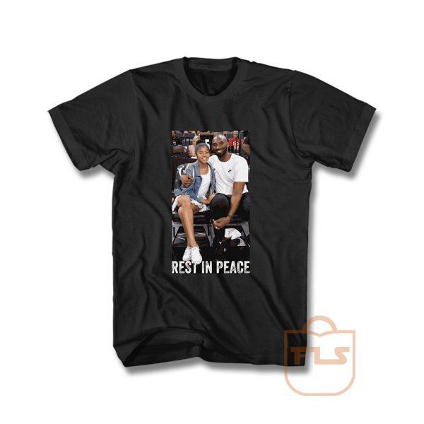 Kobe Bryant and Gigi Rest in Peace T Shirt