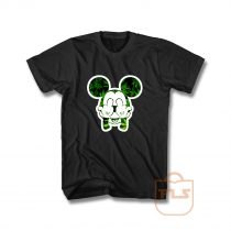 Mickey Mouse Pothead Weed Head T Shirt