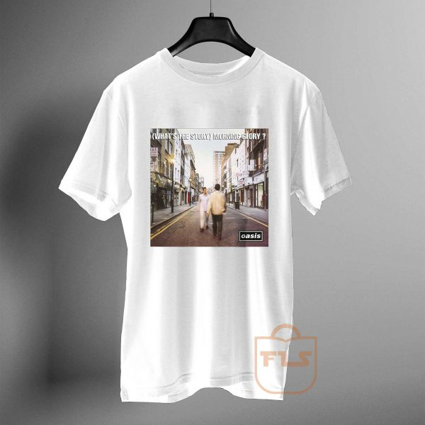 Oasis Whats the Story Morning Glory T Shirt