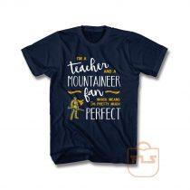 Perfect Teacher Wvu Mountaineers Fan T Shirt