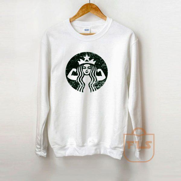 Starbuff Coffee Strong Sweatshirt