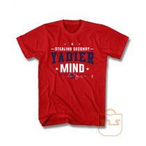 Stealing Second Yadier Mind Molina T Shirt