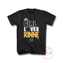 This Girl Loves Pekka Rinne T Shirt