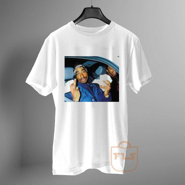 Tupac shakur Get Money T Shirt