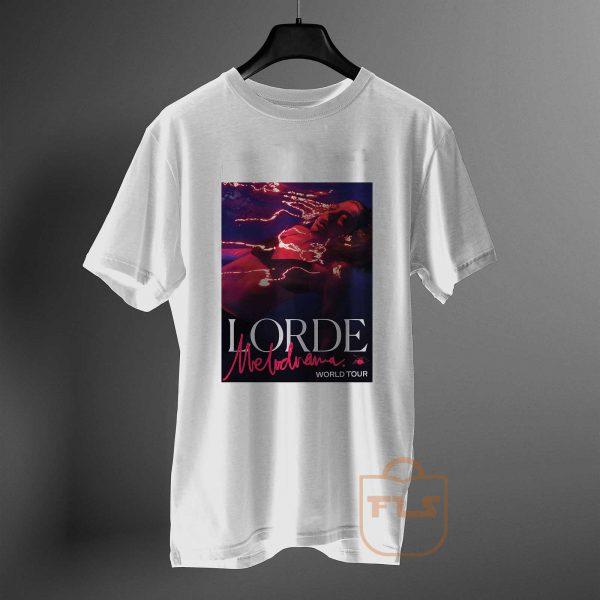 lorde melodrama world tour T Shirt