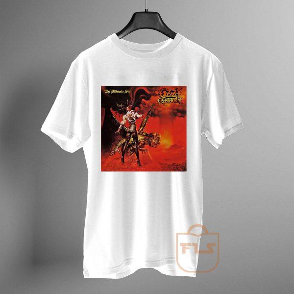 ozzy osbourne the ultimate sin T Shirt