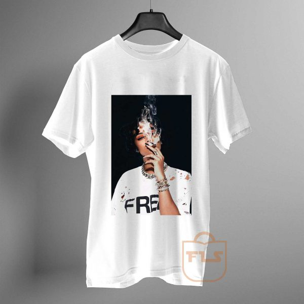 rihanna smoking T Shirt