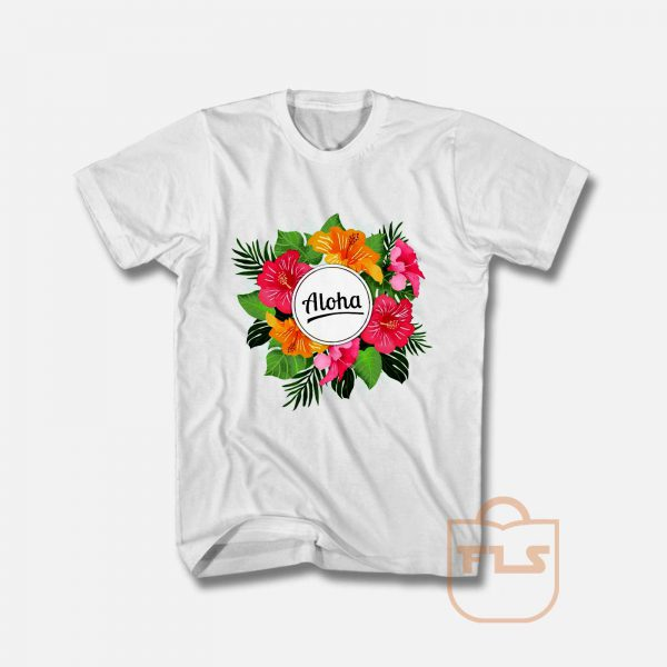 Aloha Enjoy Your Life T Shirt