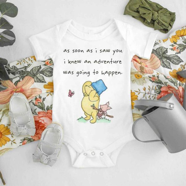 As Soon As I Saw You Baby Onesie