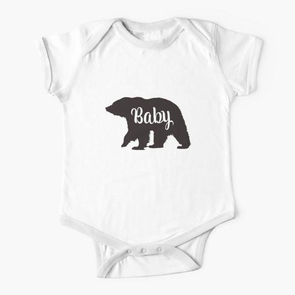 Baby Bear Matching Family Baby Onesie