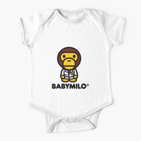Baby Milo A BATHING APE Baby Onesie