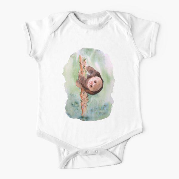 Baby Sloth Baby Onesie
