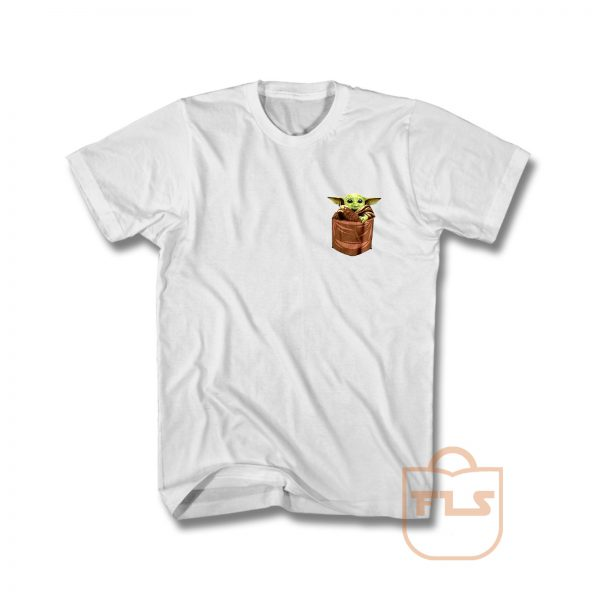 Baby Yoda The Mandalorian Pocket T Shirt