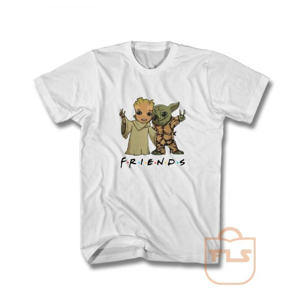 Baby Yoda and Baby Groot Friends T Shirt
