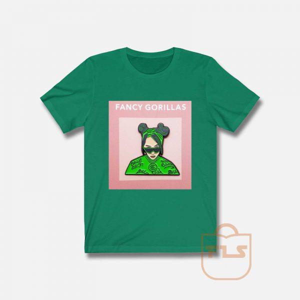 Billie Ellish Fancy Gorilla T Shirt