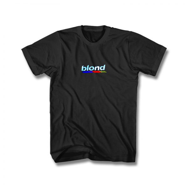 Blond Sky Blue Frank Ocean Blonde T Shirt