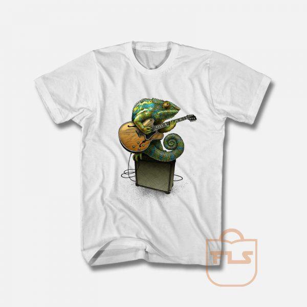 Chameleon Plays the Blues T Shirt