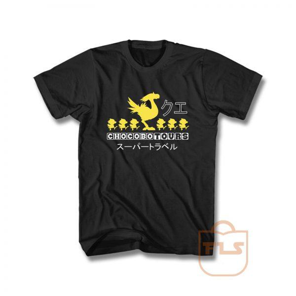 Chocobo Tours Final Fantasy T Shirt