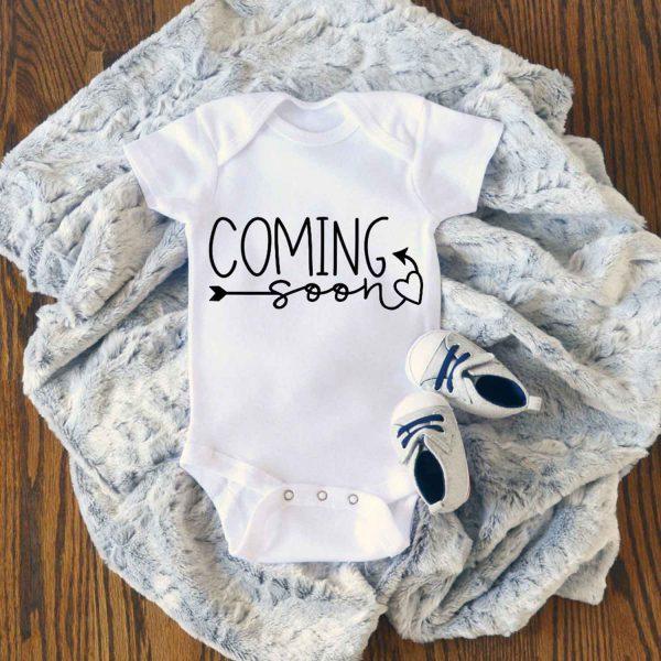 Coming Soon Baby Onesie