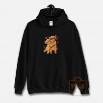 Cuddle Highland Cattle I Scottish Cow Farmers Hoodie
