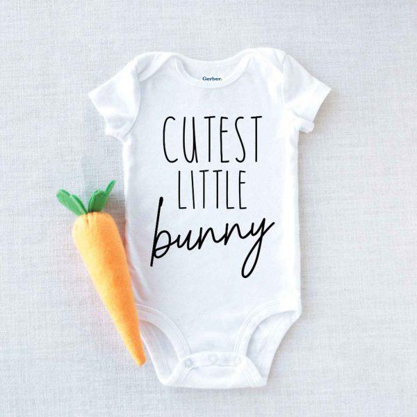 Cutest little Bunny Baby Onesie