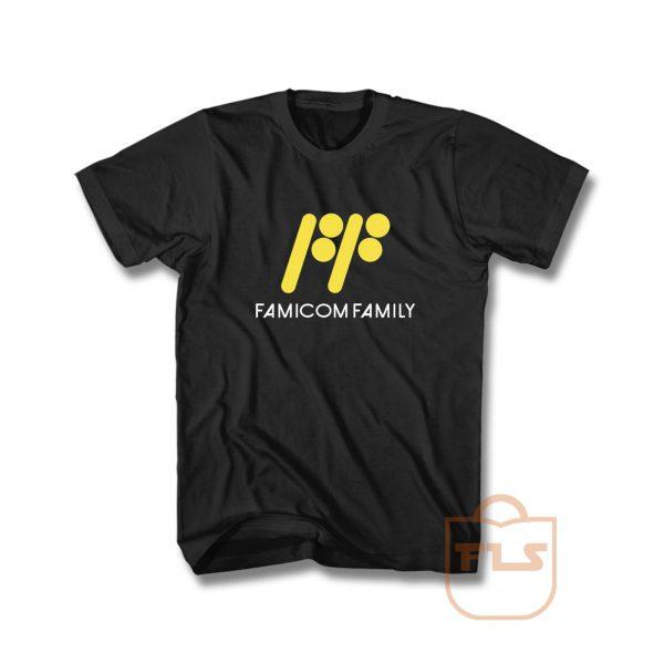 Famicom Family NES T Shirt