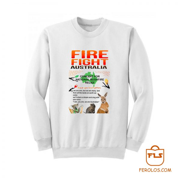 Fire Fight Australia Concert 2020 Sweatshirt