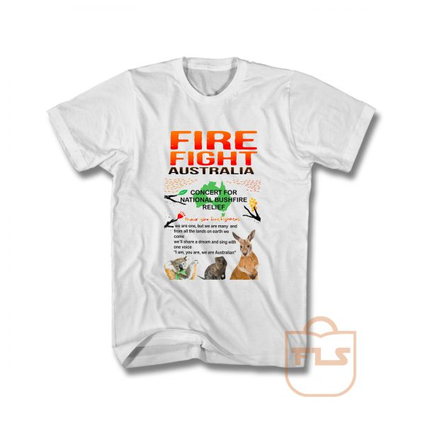 Fire Fight Australia Concert 2020 T Shirt